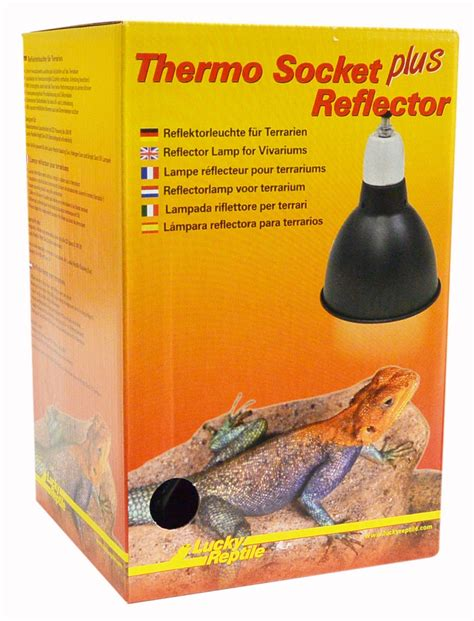 Lucky Reptile - Thermo Socket plus Reflector, small