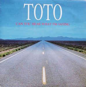 Toto - Can You Hear What I'm Saying (1991, Vinyl)   Discogs